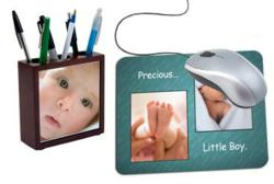 Office desk items can personalized for dad or mom